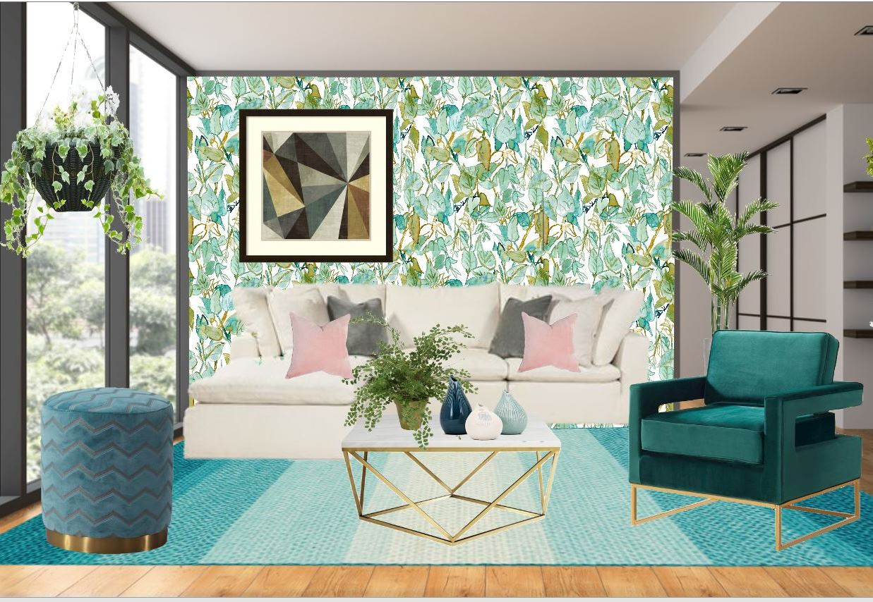 Grace Gardenia Tropical Exotic Peel Stick Wallpapers The Savvy Decorator